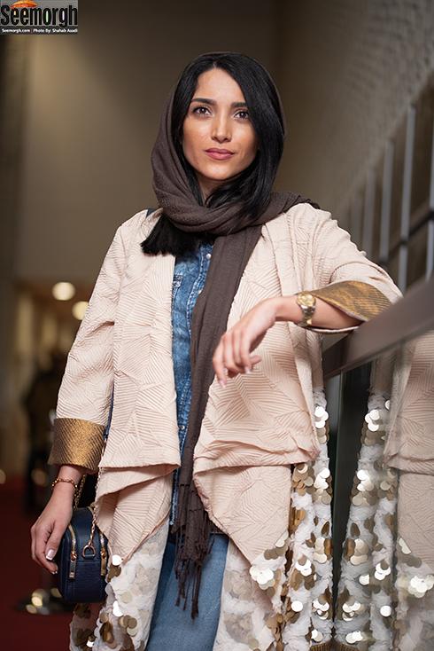 مدل مانتو جدید 97 در جشنواره جهانی فیلم فجر - خاطره اسدی