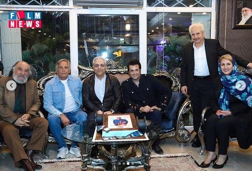 جمعی از هنرمندان در تولد مهران مدیری