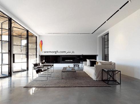 دکوراسیون اتاق نشیمن شماره 1 به سبک مینیمالیسم
