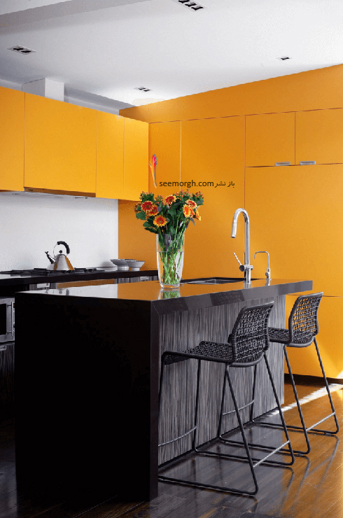 دکوراسیون آشپزخانه شماره 3 به سبک مینیمالیسم