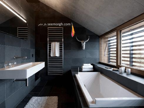 دکوراسیون حمام به سبک مینیمالیسم