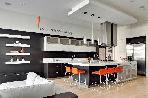 دکوراسیون آشپزخانه شماره 2 به سبک مینیمالیسم