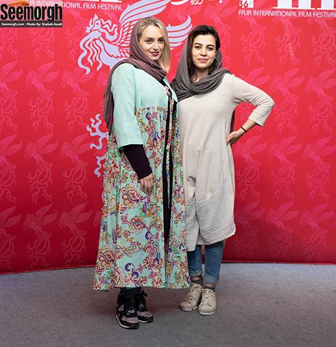 مدل مانتو بازیگران زن در جشنواره جهانی فیلم فجر - نهال دشتی