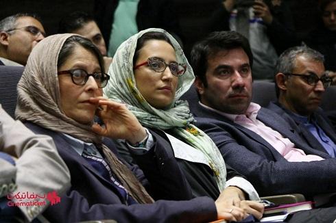 نگار جواهریان در نشست رسانه ای چهارمین جشنواره جهانی فجر