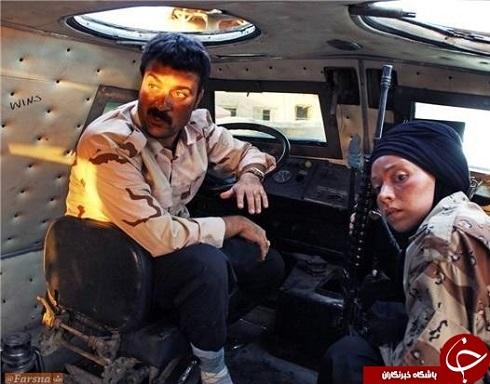 نیلوفر رجایی و احمد مهرانفر در سریال پایتخت 5