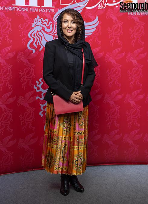 مدل مانتو بازیگران زن در جشنواره جهانی فیلم فجر - پانته آ بهرام