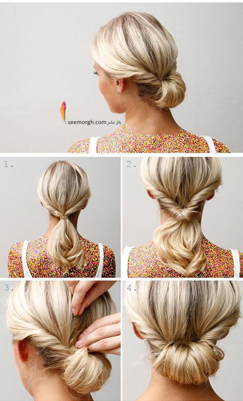 مدل مو های آسان مخصوص خانم های پرمشغله - مدل شماره 5