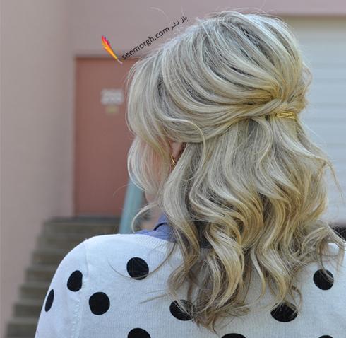 مدل مو های آسان مخصوص خانم های پرمشغله - مدل شماره 2
