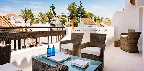 دکوراسیون داخلی هتل رابرت دنیرو Robert De Niro در ماربلا اسپانیا - عکس شماره 4