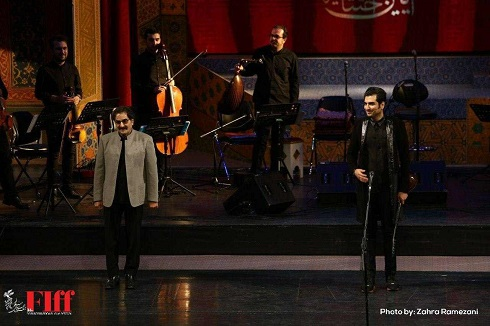اجرای شهرام و حافظ ناظری در جشنواره جهانی فجر