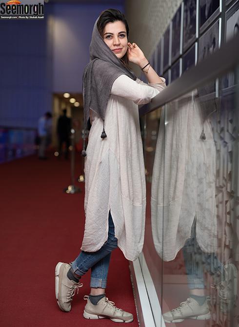 مدل مانتو بازیگران زن در جشنواره جهانی فیلم فجر - شیدا خلیق
