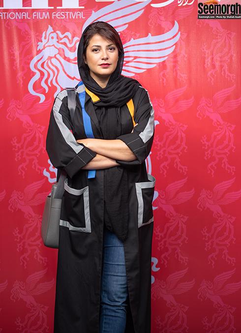 مدل مانتو جدید 97 در جشنواره جهانی فیلم فجر - طناز طباطبایی