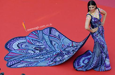 جشنواره کن 2018 cannes - مدل لباس آیشواریا رای Aishwaria Ray، عکس شماره 1