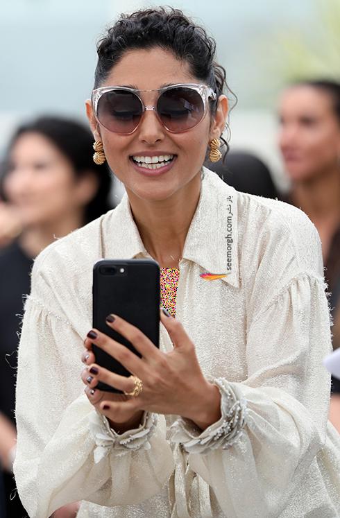 مدل لباس گلشیفته فراهانی Golshifte farahani در ششمین روز جشنواره کن 2018 Cannes - عکس شماره 3