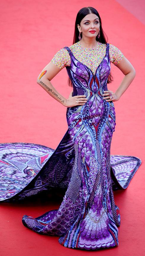 جشنواره کن 2018 cannes - مدل لباس آیشواریا رای Aishwaria Ray، عکس شماره 5