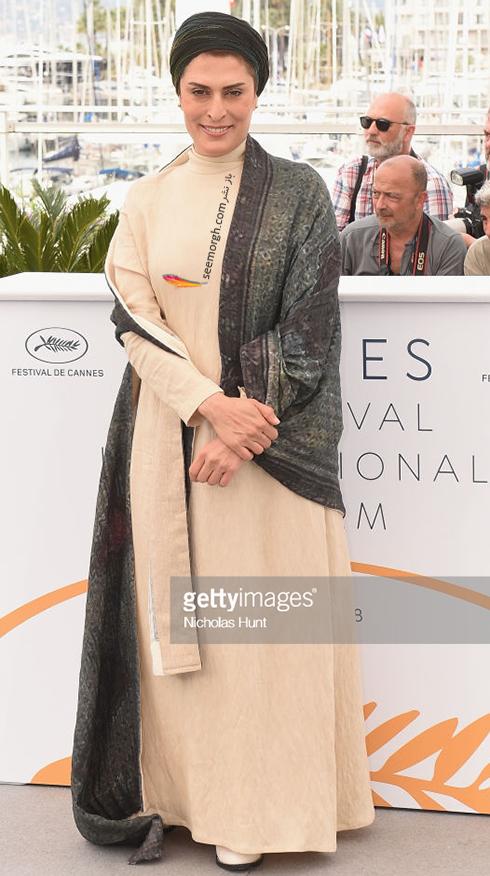 جشنواره کن 2018 Cannes، مدل لباس بهناز جعفری و مرضیه رضایی - عکس شماره 3