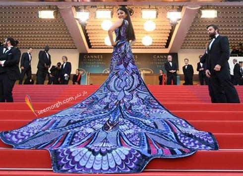 جشنواره کن 2018 cannes - مدل لباس آیشواریا رای Aishwaria Ray، عکس شماره 4