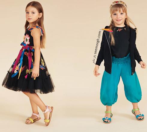 کلکسيون لباس کودک دولچه اند گابانا Dolce & Gabbana براي بهار 2018 - مدل شماره 6