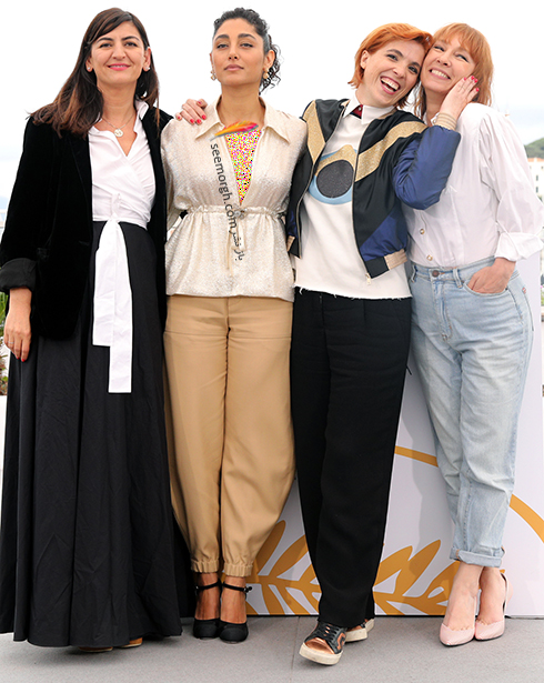 مدل لباس گلشیفته فراهانی Golshifte farahani در ششمین روز جشنواره کن 2018 Cannes - عکس شماره 2