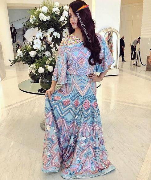 جشنواره کن 2018 cannes - مدل لباس آیشواریا رای Aishwaria Ray، عکس شماره 6