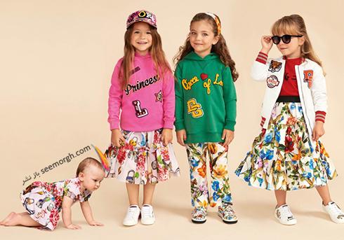 کلکسيون لباس کودک دولچه اند گابانا Dolce & Gabbana براي بهار 2018 - مدل شماره 17