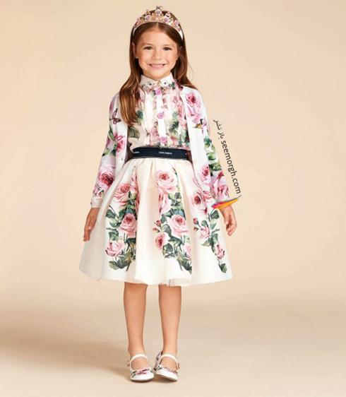 کلکسيون لباس کودک دولچه اند گابانا Dolce & Gabbana براي بهار 2018 - مدل شماره 13