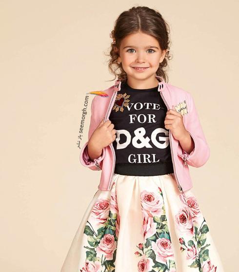 کلکسيون لباس کودک دولچه اند گابانا Dolce & Gabbana براي بهار 2018 - مدل شماره 12