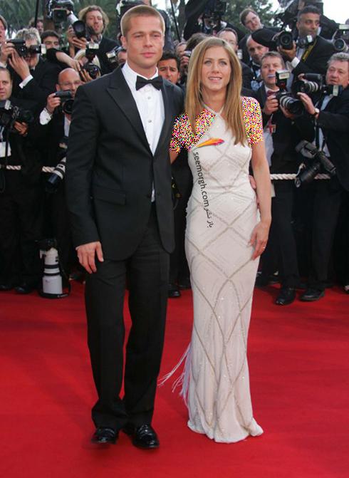مدل لباس جنیفر آنیستون Jennifer Aniston در جشنواره کن 2004