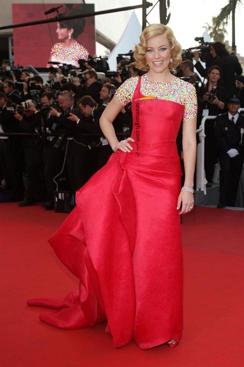 مدل لباس الیزابت بنکس Elizabeth Banks در جشنواره کن 2009
