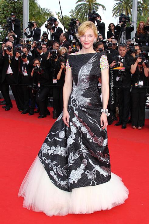 مدل لباس کیت بلانشت Cate Blanchett در جشنواره کن 2010