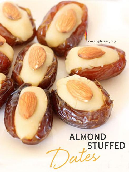 طرز تهیه خرما شکم پر برای ماه رمضان