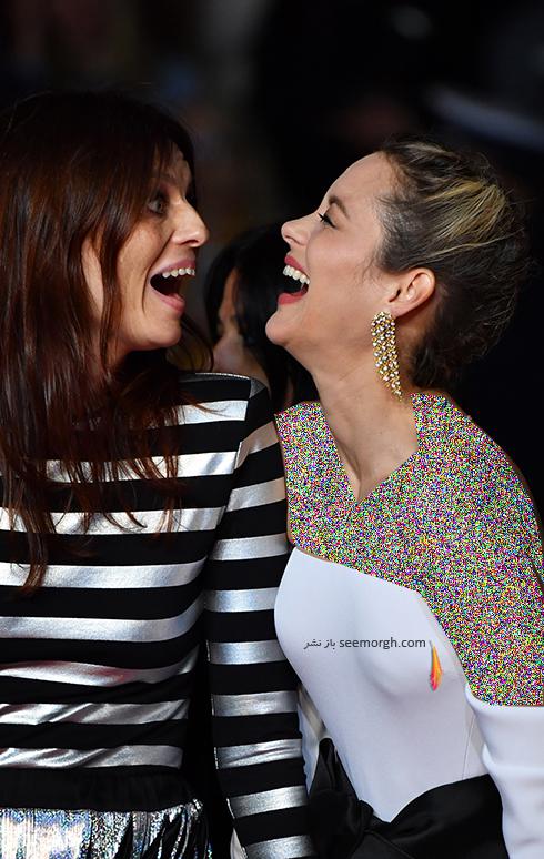ماریون کوتیار و امیلیا دورا در کن 2018