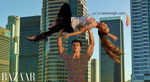عکس های جدید جنیفر لوپز Jennifer Lopez روی مجله بازار HarpersBazaar - عکس شماره 3