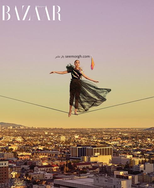 عکس های جدید جنیفر لوپز Jennifer Lopez روی مجله بازار HarpersBazaar - عکس شماره 5