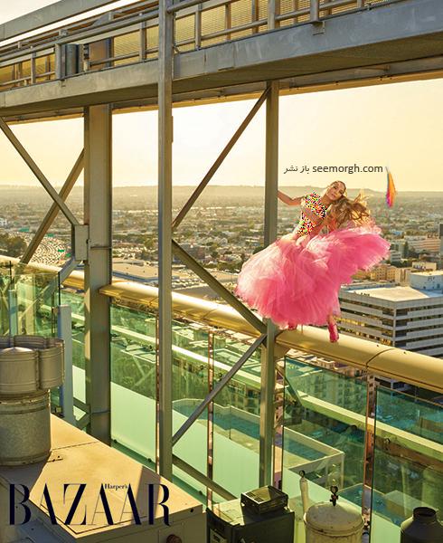 عکس های جدید جنیفر لوپز Jennifer Lopez روی مجله بازار HarpersBazaar - عکس شماره 4