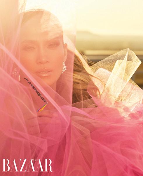 عکس های جدید جنیفر لوپز Jennifer Lopez روی مجله بازار HarpersBazaar - عکس شماره 1
