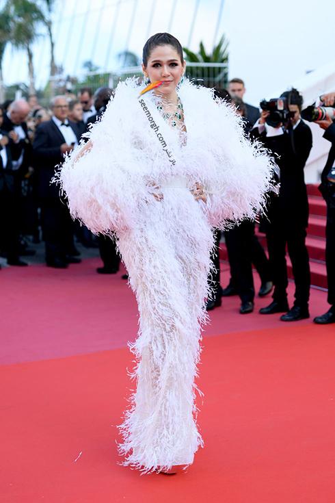 مدل لباس در روز پنجم جشنواره کن 2018 Cannes - آریا هارگیت Arya Hargate