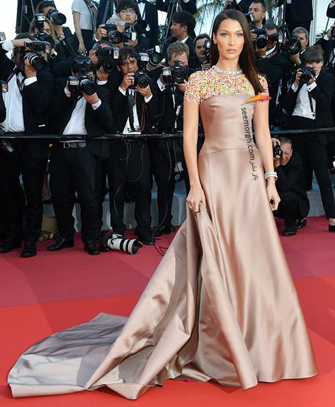مدل لباس در روز پنجم جشنواره کن 2018 Cannes - بلا حدید Bella Hadid