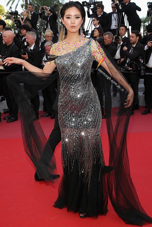 مدل لباس در روز پنجم جشنواره کن 2018 Cannes - بتی باچز Betty Bachz