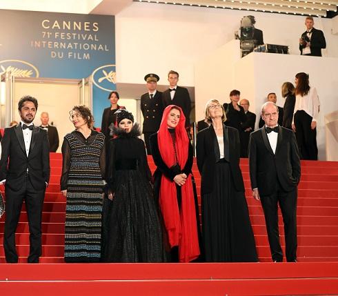 فرش قرمز فیلم سه رخ در جشنواره کن 2018
