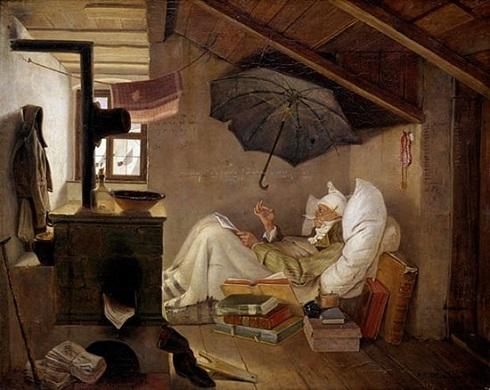 شاعر فقیر اثر کارل اشپیتسوگ