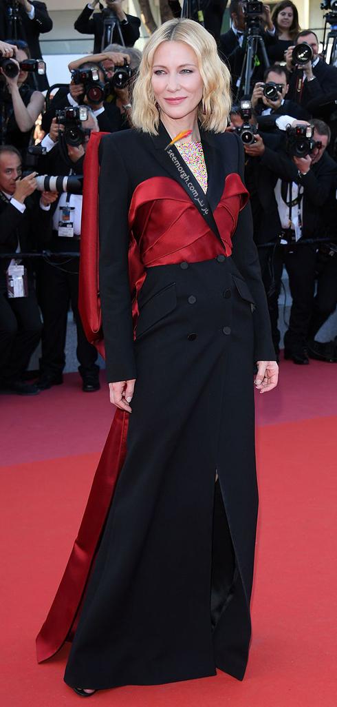 مدل لباس کیت بلانشت Cate Blanchett در اختتامیه جشنواره کن 2018 Cannes
