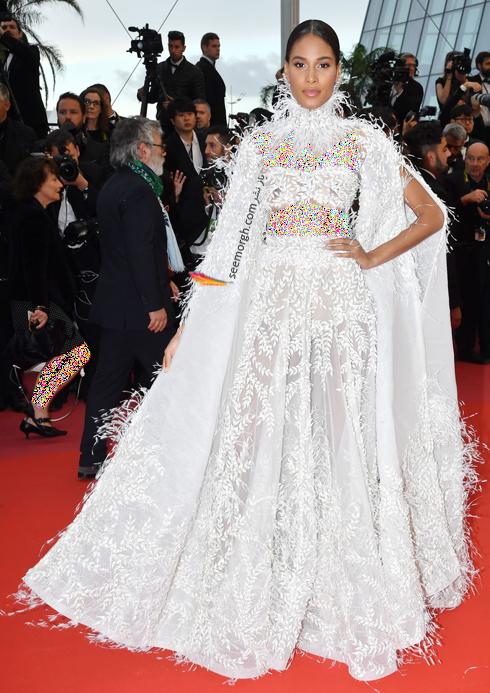 مدل لباس سیندی برونا Cindy Bruna  در نهمین روز جشنواره کن 2018 Cannes
