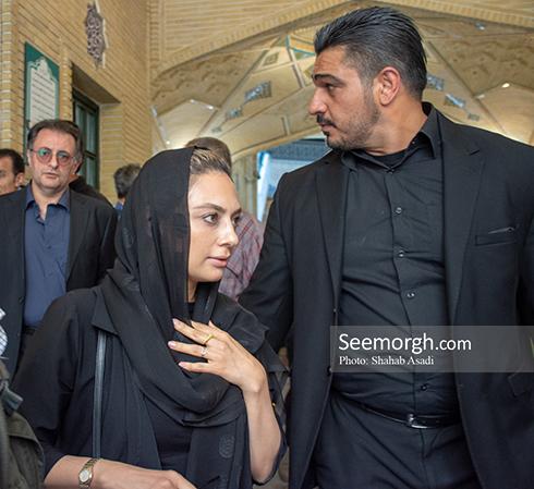 یکتا ناصر در مراسم یادبود ناصر ملک مطیعی