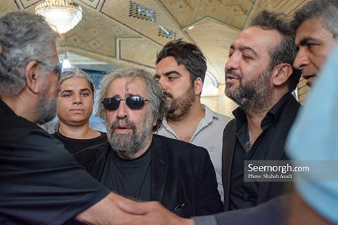 مسعود کیمیایی در مراسم یادبود ناصر ملک مطیعی