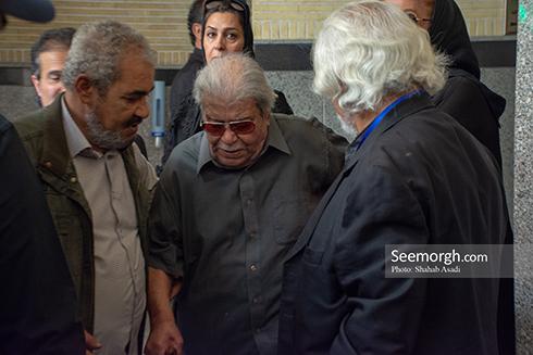 محمد علی کشاورز در مراسم یادبود ناصر ملک مطیعی 2