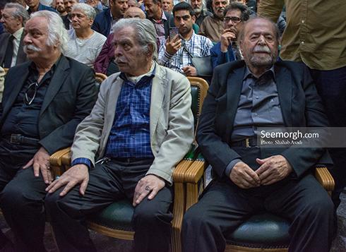 محمدعلی کشاورز در مراسم یادبود ناصر ملک مطیعی 3