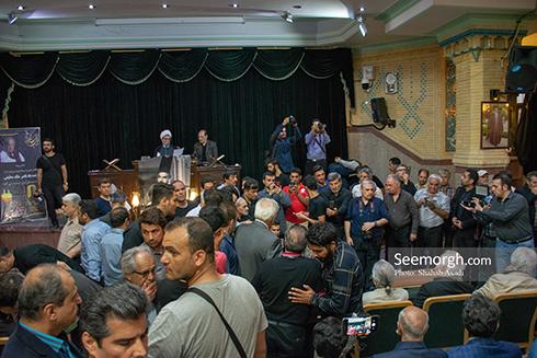 حضور پرشور مردم در مراسم یادبود ناصر ملک مطیعی 7