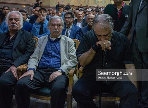 ایرج نوذری در مراسم یادبود ناصر ملک مطیعی 2