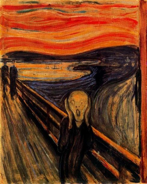 تابلوی جیغ اثر ادوارد مونک